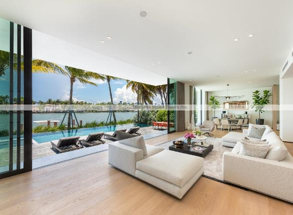 Hardwood Floors installation project, Miami, FL