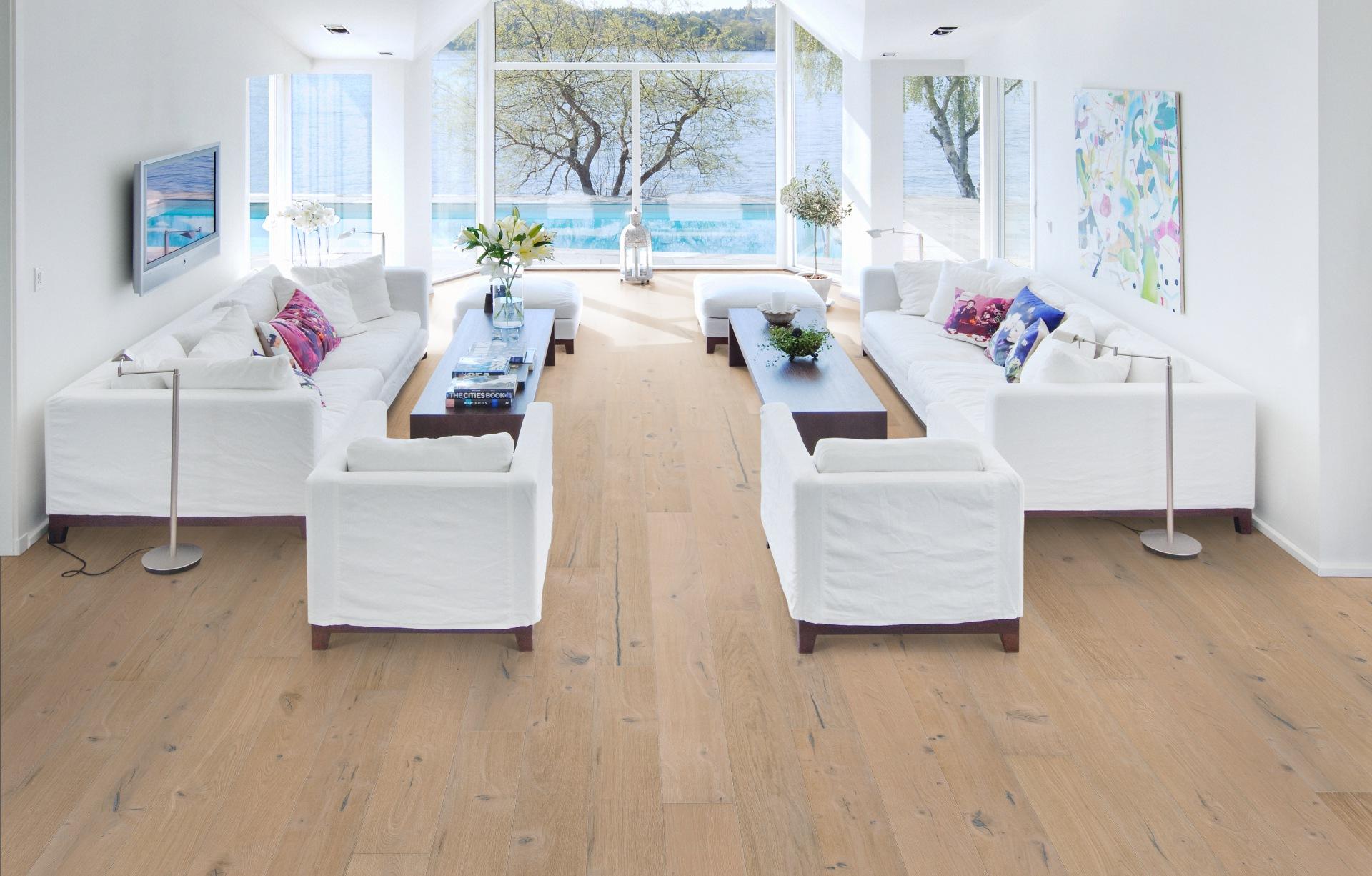 Hardwood Floors Installation Project, Miami, FL